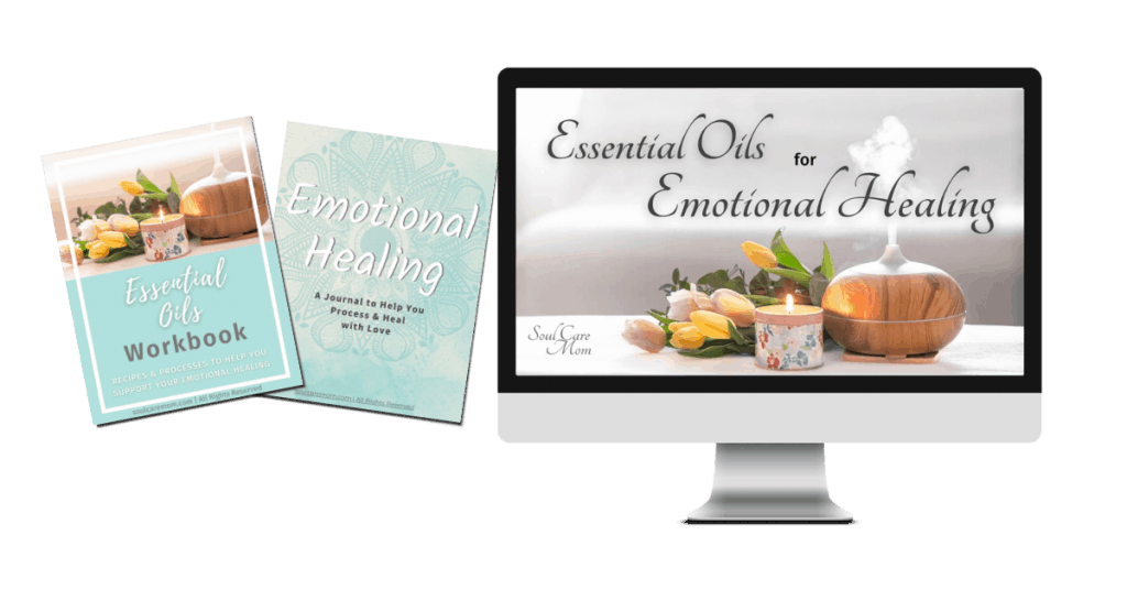 Essential Oils for Emotional Healing Course Mockup - Soul Care Mom