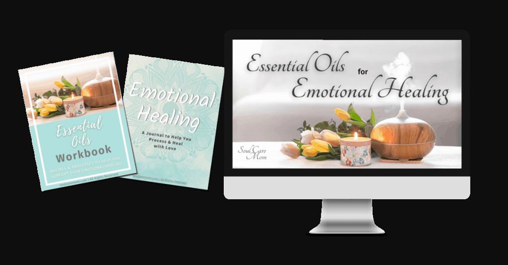 Essential Oils for Emotional Healing Course Mockup - Soul Care Mom