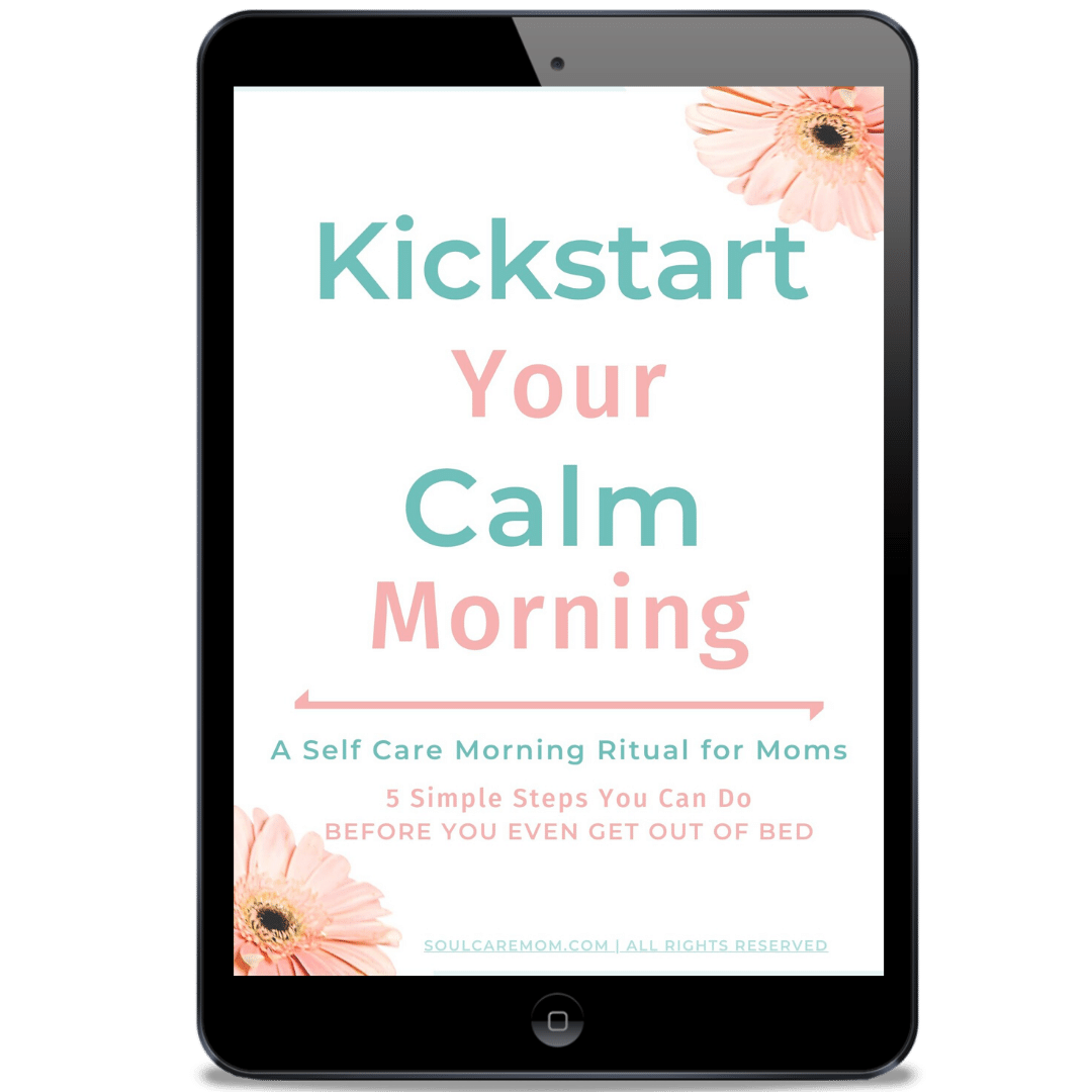Kickstart Your Calm Morning - Soul Care Mom image on ipad