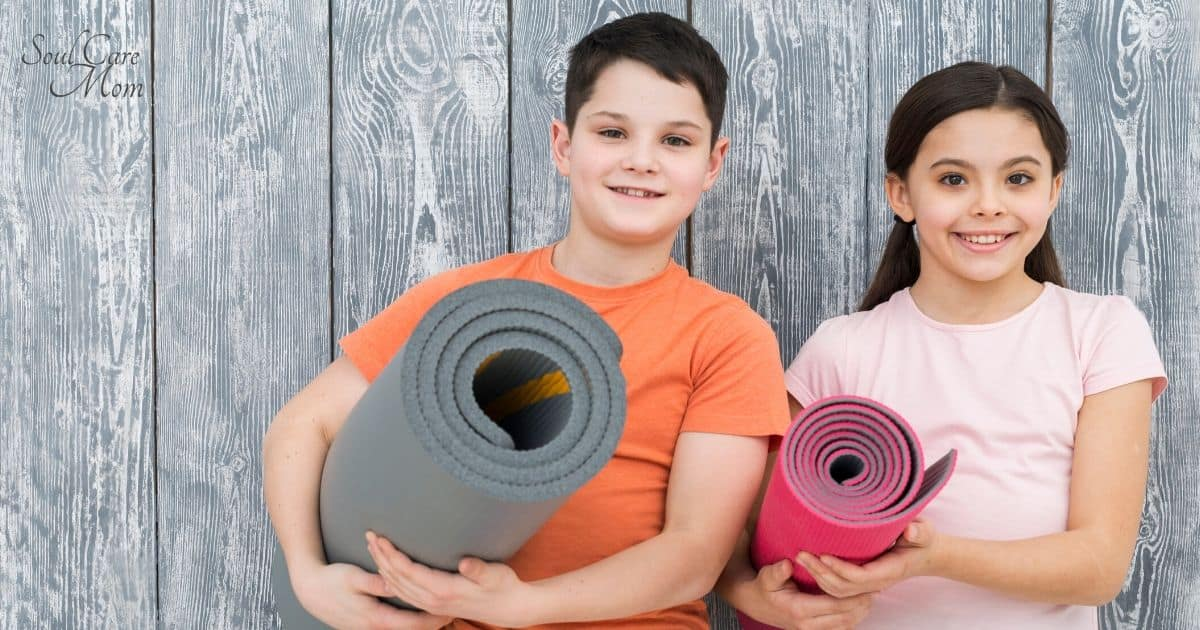 Yoga for Kids - Parent and Child Yoga - Soul Care Mom