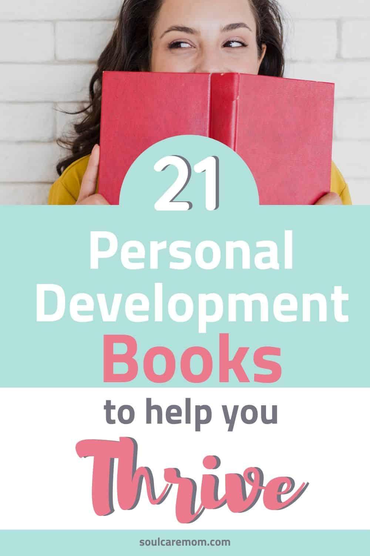 Personal Development Books - Soul Care Mom - Pinterest