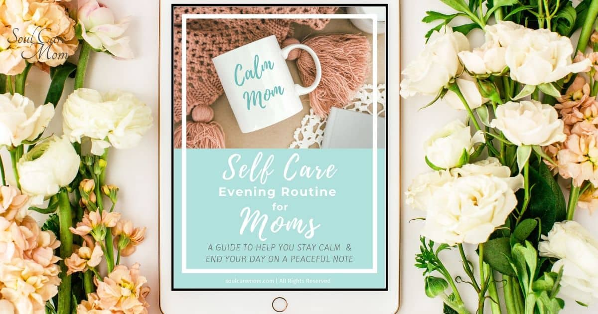 Self Care Evening Routine Guide - Soul Care Mom