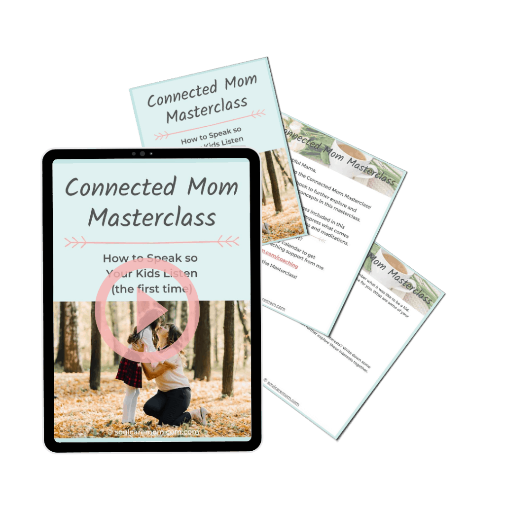 Connected Mom Masterclass Mockup