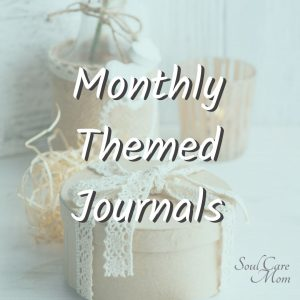 Monthly Themed Journals