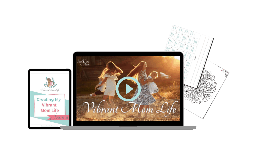 Vibrant Mom Life Mockups - Transparent 1920x1080