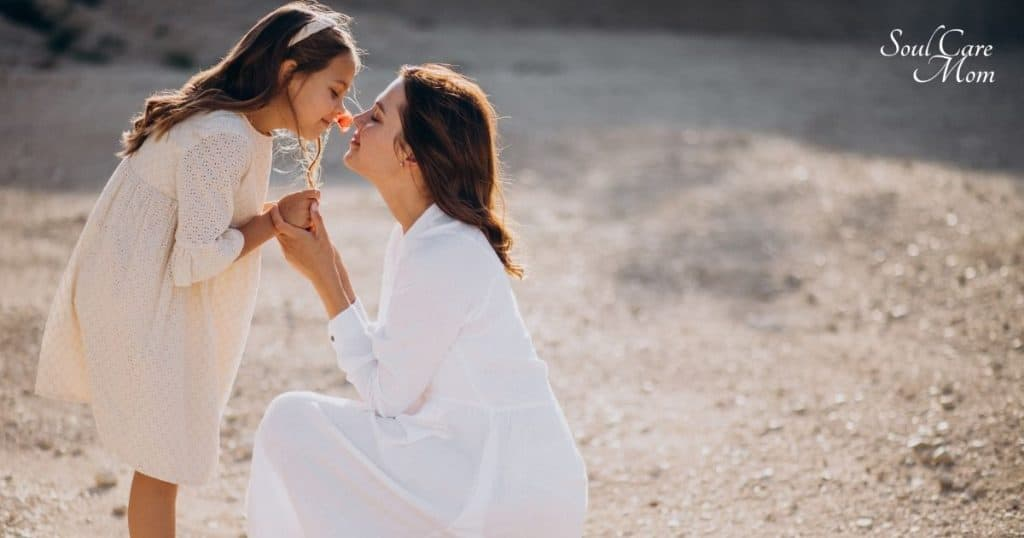 Highly Sensitive Child - Mom and Daughter