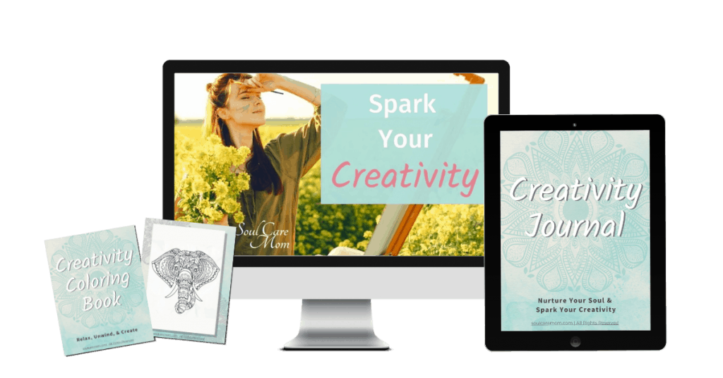 Spark Your Creativity Mockup - Soul Care Mom