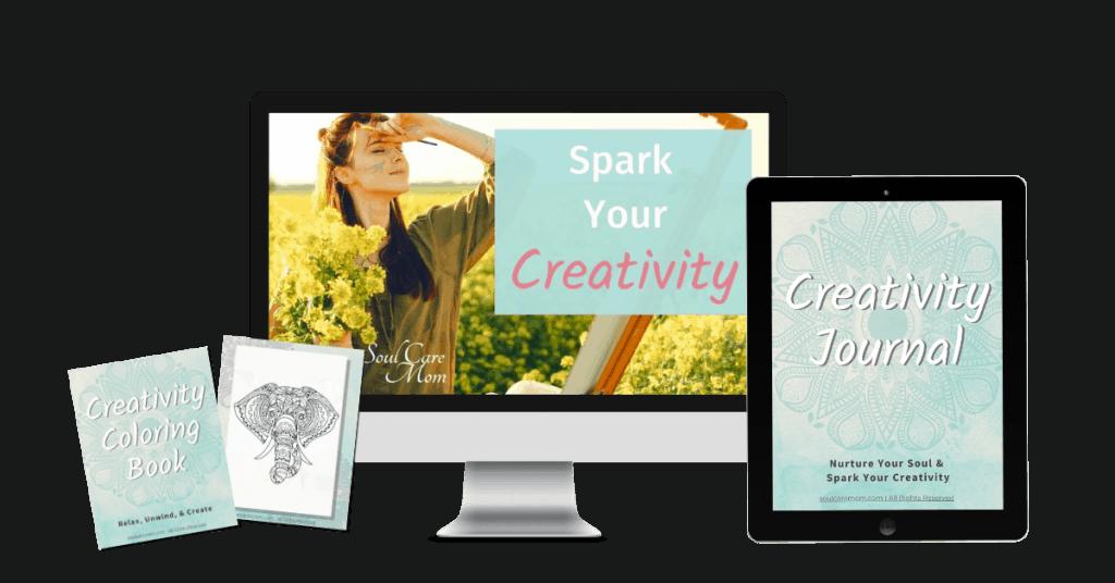 Spark Your Creativity Mockup - Soul Care Mom
