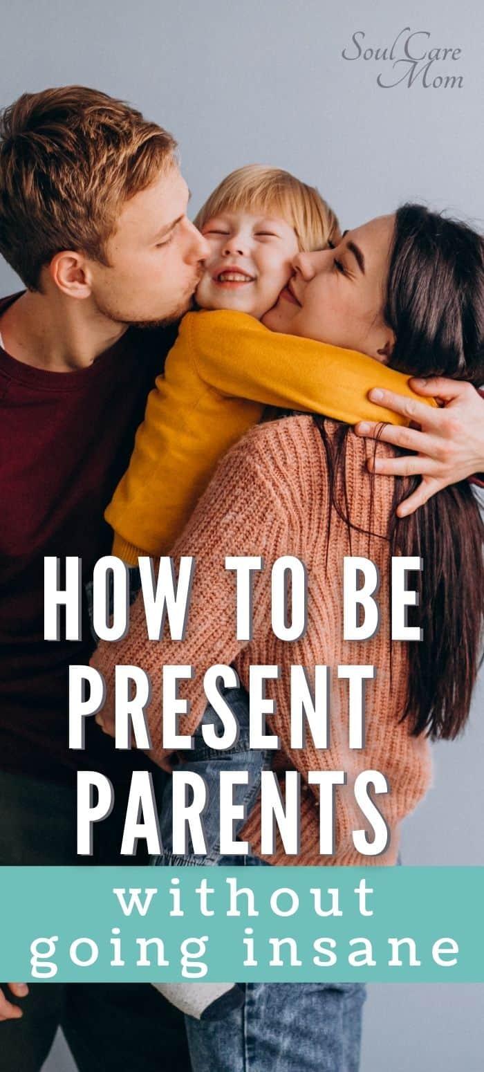 Present Parent - Family Hugging
