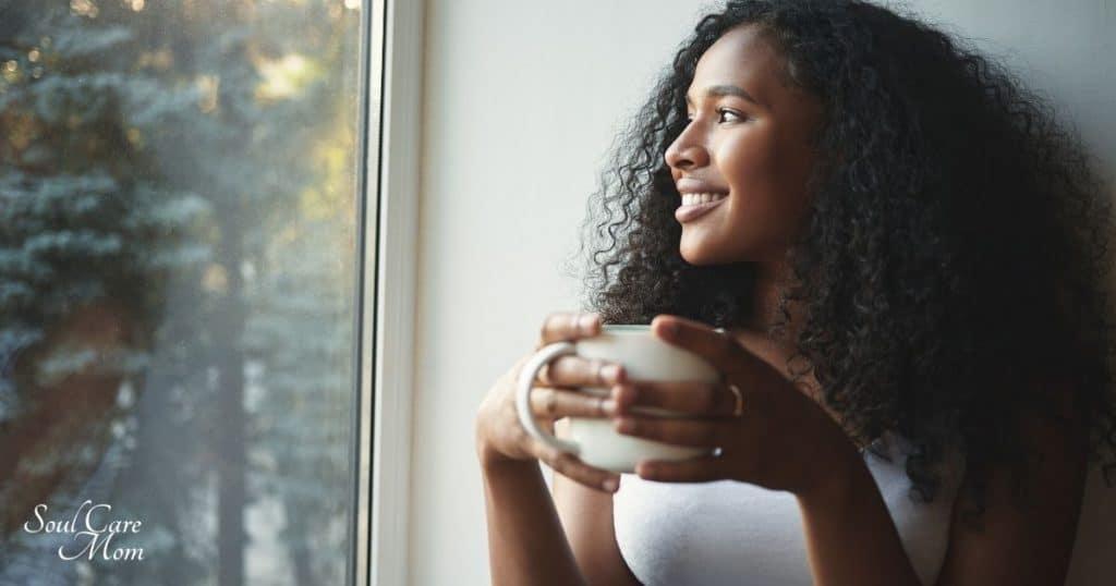 Family Routines - Woman Enjoying Coffee