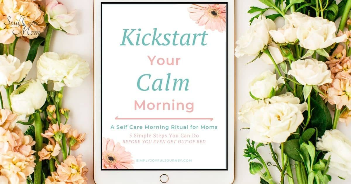 Kickstart for resources page - Soul Care Mom