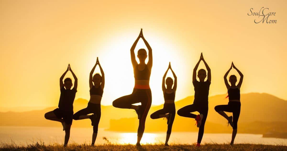 Tree Pose - Soul Care Mom Yoga