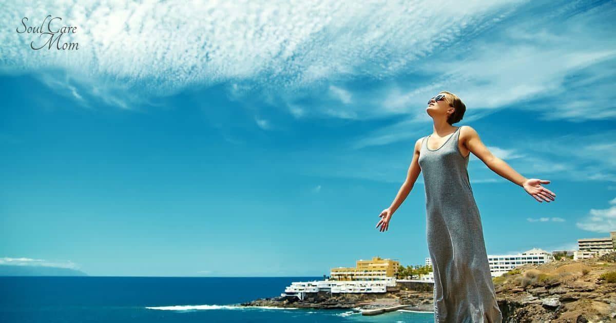 Vast Blue Sky Guided Meditation - Soul Care Mom